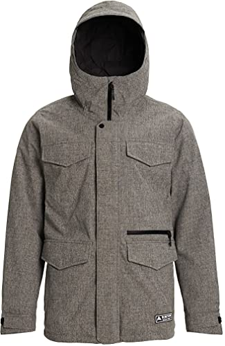 Burton Mens Covert Jacket, Bog Heather New, Large