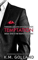 temptation by km golland cover