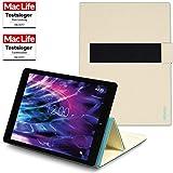 Hülle für Medion Lifetab P9702 Tasche Cover Case Bumper | in Beige | Testsieger