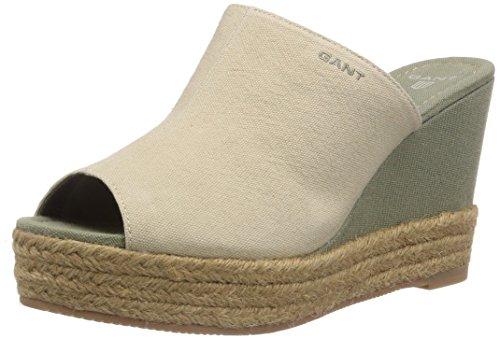 GANT FOOTWEAR Stella, Espadrilles Femme - Beige - Beige (Dry Sand G22), 41 EU