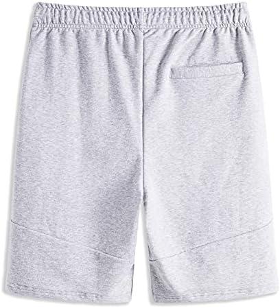 BEILU Mens Gym Workout Shorts Athletic Pants Training Running Shorts with Zipper Pocket