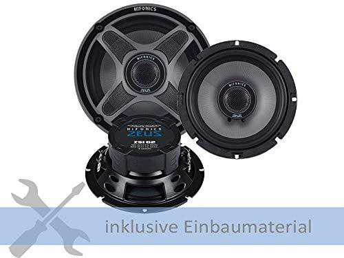 Hifonics Lautsprecher ZSI-62 360W 165mm 2 Wege Koax passend für Opel Corsa D ab 2006 Türen vorne