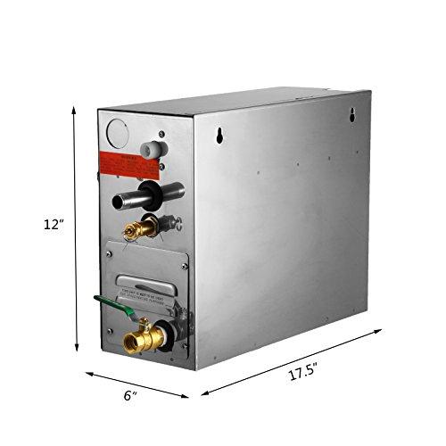 BuoQua 6KW Dampfgenerator Dusche Dampferzeuger Sauna Für Dampfbad Dampfdusche Und Dampfbäder Private Und Gewerbliche Dampfgerät - 6