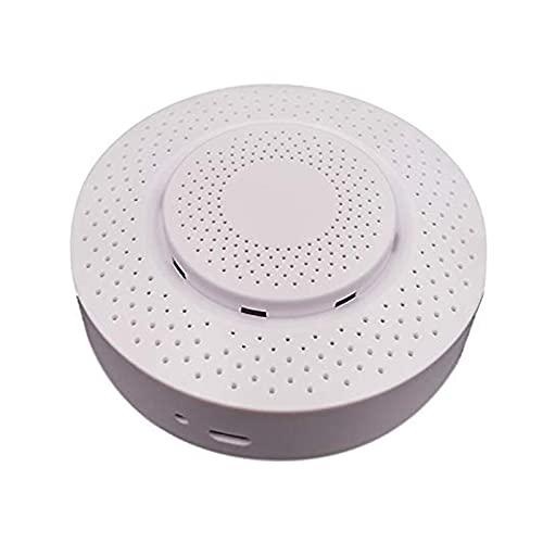 Detector de calidad de aire inteligente High Sensitivity Hogar Alarma WiFi interior Air Monitor Ambiental Smart Home Advertense Alarma Detector de alarma para pruebas Formaldehyde COC CO2 Temperatura