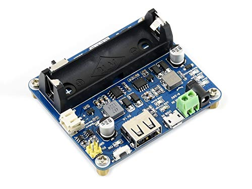 Waveshare Solar Power Management Module for 6V~24V Solar Panel Multi Protection Circuits