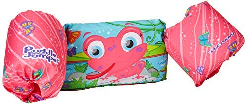 Stearns Kids Puddle Jumper Deluxe 3D Life Jacket, Frog