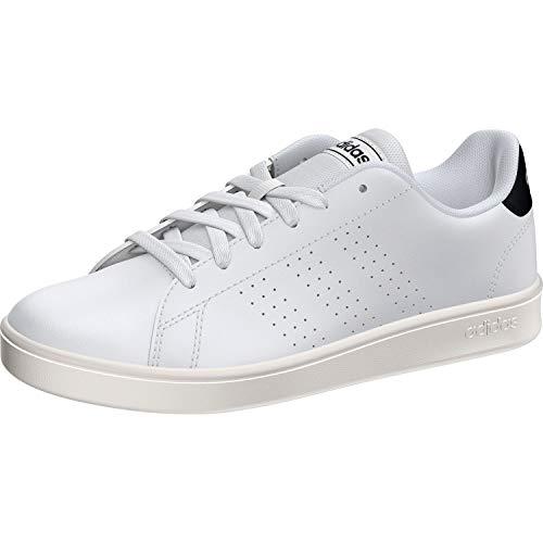Adidas Advantage K, Zapatillas, Blanc Bleu Marine Blanc, 38 2/3 EU