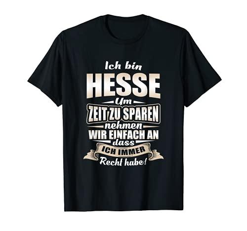 T-Shirt Hessen - Hesse hessisch Geschenk Spruch