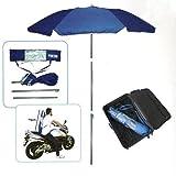 Pincho Sombrilla Mochila Plegable 180CM Ideal para Moto y Bicicleta