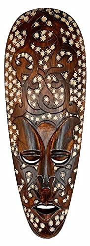 Máscara ARIS 50 cm, madera de máscara de Bali, pared Máscara, decoración de...