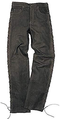 Schnürjeans Colorado schwarz - Biker, Western, Motorradhose Jeans - INCH Größen - Neu - Frühling Sommer, Farbe:Schwarz;Hosen Größe:44