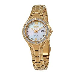 Dress Watch Yellow Gold with Rhinestones SUT380