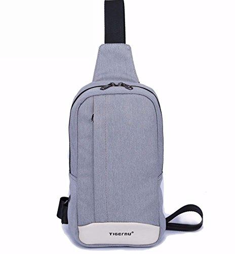 TIGERNU Digitalkey TS1 Zainetto a Spalla Marsupio per Tempo Libero Sport o Lavoro - Tracolla a Monospalla Sling Bag (TS1)