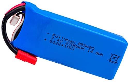 Original 2S 7.4V 2700mAh Lipo Batterie für Syma X8C X8W X8G RC Drohne Ersatzteile 7.4V 853480 Batterie für 12428 12423 RC Car 1St