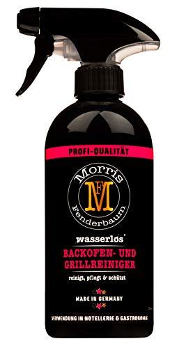 Morris Fenderbaum Backofen- und Grillreiniger Profi-Qualität - Kohlegrill, Gasgrill, Elektrogrill, Grillrost, Edelstahl - BBQ, Backofenspray, nachhaltig, wasserlos, Sprüh-Flasche, 1 x 500 ml