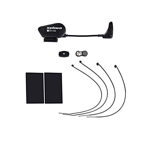 Xplova TS5 unisex volwassenen snelheid en trapfrequentie sensor, zwart, eenheidsmaat
