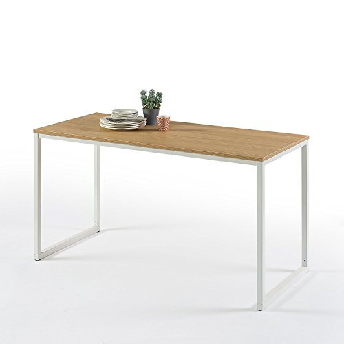 Zinus Jennifer Modern Studio Collection Soho Rectangular Dining Table / Table Only / Office Desk / Computer Table White