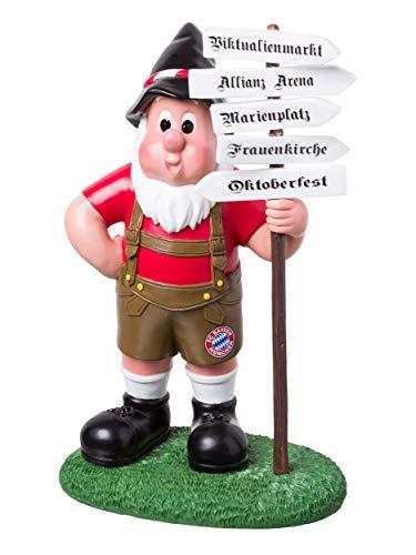 FC Bayern München Gartenzwerg Wegweiser