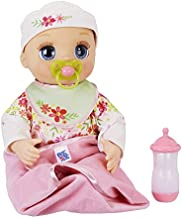 Baby Alive Real As Can Be Baby: Realistic Blonde Baby Doll, 80+ Lifelike Expressions, Movements & Real Baby Sounds, With Doll Accessories, Toy for Girls and Boys 3 and Up