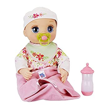 Baby Alive Real As Can Be Baby  Realistic Blonde Baby Doll 80+ Lifelike Expressions Movements & Real Baby Sounds With Doll Accessories Toy for Girls and Boys 3 and Up