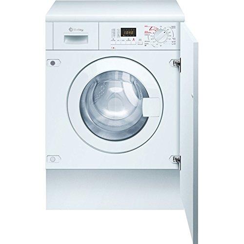 Balay 3TW776B Integrado Carga frontal B Color blanco lavadora - Lavadora-secadora (Carga frontal, Integrado, Color blanco, Izquierda, Botones, Giratorio, LED)