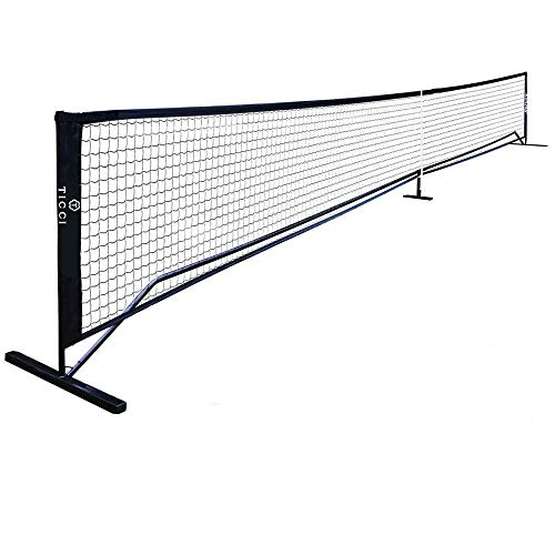 TICCI Pickleball Tennis Net Metal Frame Stand Pickleball Net for Sports