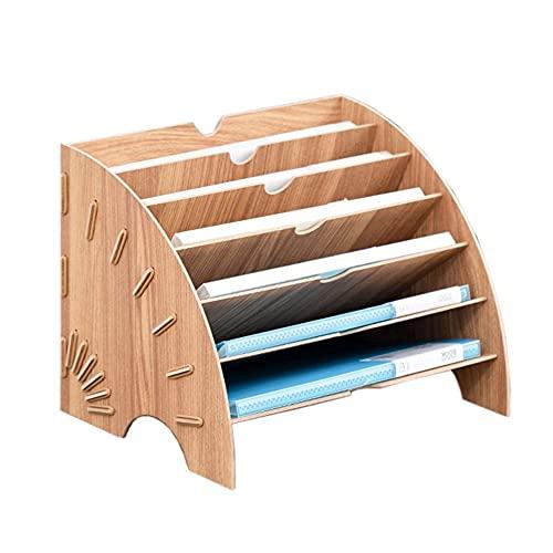 Portariviste Ufficio Forniture per ufficio multistrato a forma di ventilatore Cartella di archiviazione Forniture per ufficio Cancelleria Cancelleria Sundries Cassetto Cabinetto Armadio Cartone Portar