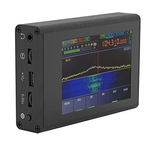Grbewbonx Malahit DSP SDR Ricevitore Radio Malachite DSP Software Defined Radio 3,5 Pollici Toccando Schermo IPS 50KHz-200MHz Senza Antenna