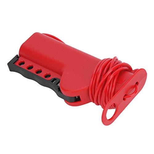 Bloqueo De Cable, Dispositivos De Etiquetado Con Cerradura Múltiple Bloqueo De Cable Multiuso, Función De Autobloqueo Para Interruptores De Válvula De Puerta Disyuntores De Fábrica De