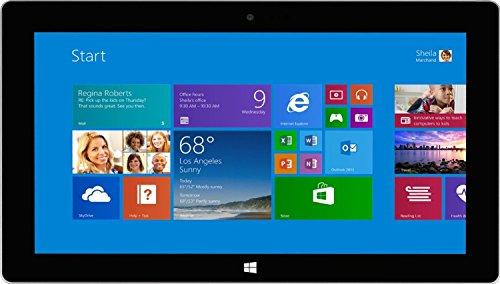 Microsoft Surface Pro 2 (128GB, Haswell i5 Processor, 10.6in Full HD Display, Windows 10 Pro, Dark Titanium) (Renewed)