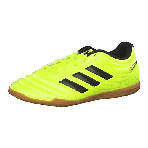 adidas Performance Copa 19.4 Indoor Fußballschuh Herren Neongelb/schwarz, 7 UK - 40 2/3 EU - 7.5 US