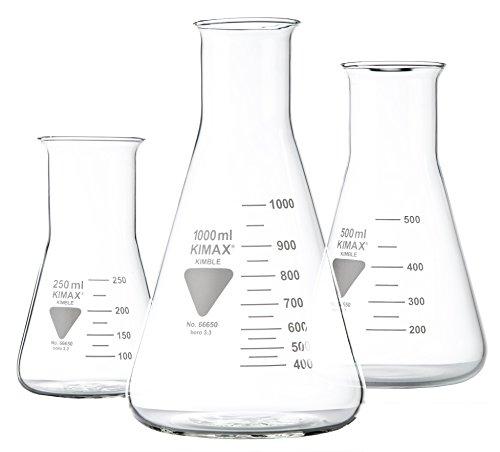 RASOTHERM Erlenmeyerkolben weithals,   (Boro 3.3), 1000 ml