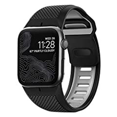 Designed for Apple Watch: Sport Strap is designed to give your Apple Watch a rugged, athletic, and bold new look Hypoallergenic: We've harnessed one of nature's wonder materials, silicone, to create a rugged strap that is strong, naturally hypoallerg...