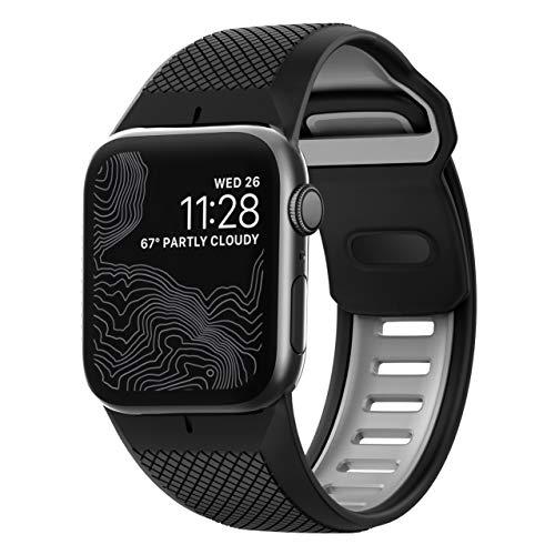 NOMAD Sport - Correa para Apple Watch de 42 mm, Negro