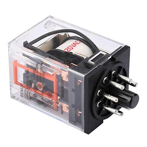 Relé eléctrico de 8 pines con relé electromagnético BEM2P-I (MK2P-I) con certificación de seguridad CE, CQC, UL, 10 A 220 V