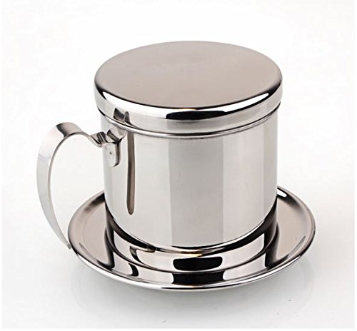 Best Buy! Express$ 1PC Vietnamese stainless steel filter/Espresso Coffee Maker Percolator