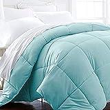 Beckham Hotel Collection 1600 Series - Lightweight - Luxury Goose Down Alternative Comforter - Hotel Quality Comforter and Hypoallergenic - Twin/Twin XL - Aqua