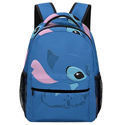 Lilo Cartoon Stitch - Bolsas de escuela para niños, mochilas de alta capacidad para estudiantes de primaria y secundaria, ultraligeras y con múltiples compartimentos