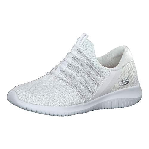 Skechers Damen Sneaker Ultra Flex Bright Future Weiß, Schuhgröße:EUR 41