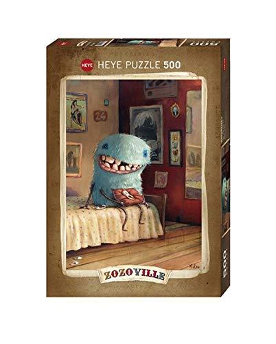 Heye- Puzzle Dente di Latte Zozoville, 500 Pezzi, VD-29701