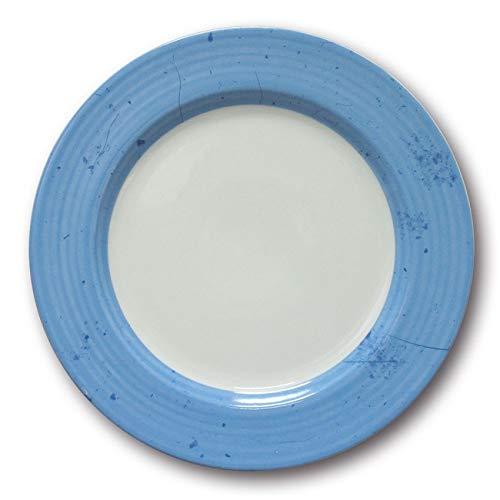 Lot de 6 assiettes plates Prestige Bleu D 31 cm