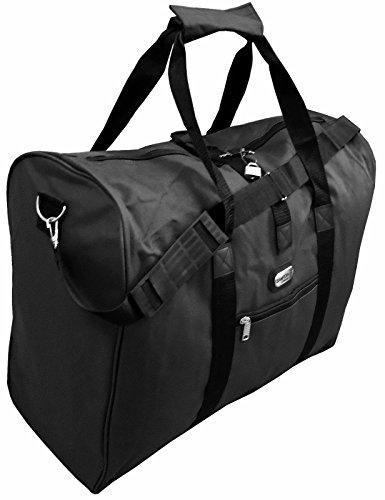 Easy Jet Approved Cabin Bag 56cm x 45cm x 25cms, Travel, Work, Gym & College (Black)