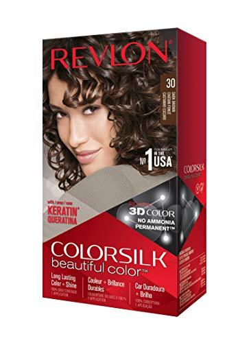 Tinte para Cabello Beautiful Color - Keratina Castaño Oscuro Tono 30