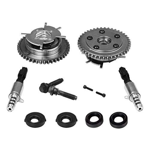 Variable Camshaft Timing Cam Phaser Kit - Replaces 3R2Z6A257DA, 917-250, 3L3Z 6279-DAP, 8L3Z-6M280-B - Compatible with Ford, Lincoln & Mercury Vehicles - F-150, Expedition - Triton 5.4L, 4.6L 3V