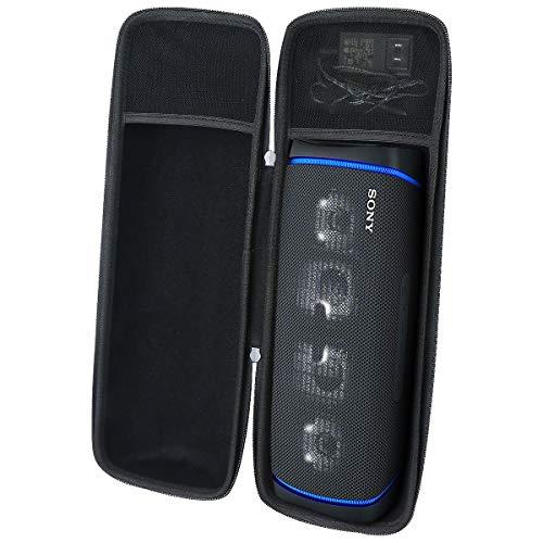 Aenllosi Caja Bolsa Fundas para Sony SRS-XB43 - Altavoz Bluetooth Potente (Negro)