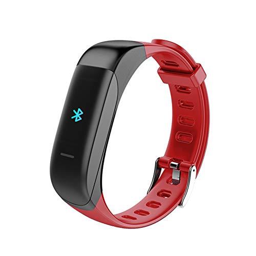 2-in-1-armband voor hoofdtelefoon, bluetooth, intelligente fitnesstracker met bloeddrukmonitor met hartslag, voor mannen en vrouwen