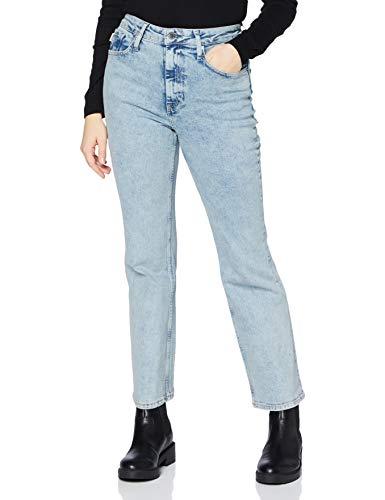 Superdry High Rise Flare Jeans, Nevins Blue Vintage, 25/28 para Mujer