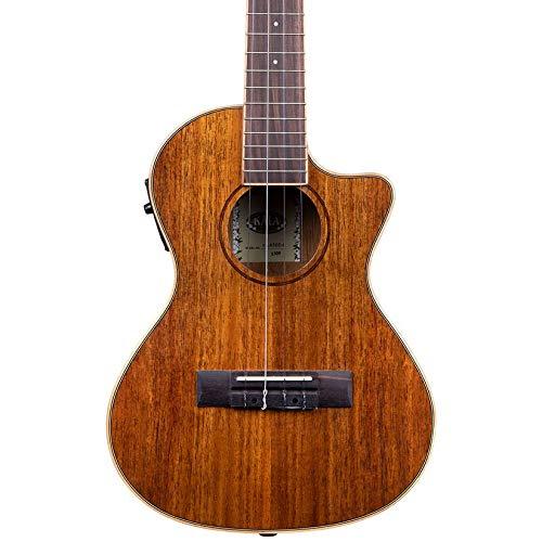 Kala KA-KTGE-C Hawaiian Koa Gloss Tenor Cutaway Acoustic-Electric Ukulele, B-STOCK/Finish Blemish