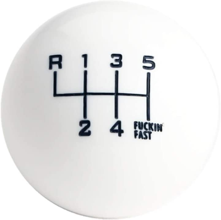 Dewhel It is very popular White Black Fing Fast Shift Short 6 for Throw Speed Knob Max 86% OFF