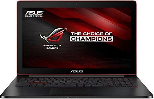 Asus G501JW-CN030T 39,6 cm (15,6 Zoll) Laptop (Intel Core i7 4720HQ, 16GB RAM, 128GB SSD, NVIDIA GF 960M 4GB, Win 10 Home) schwarz